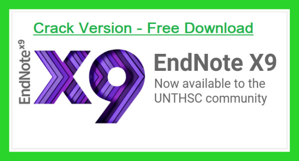 EndNote X9.3 Crack + Product Key (MAC/WIN) Free Download 2020