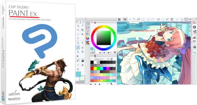 Clip Studio Paint 1.9.7 Crack + Full Serial Number Free Download 2020