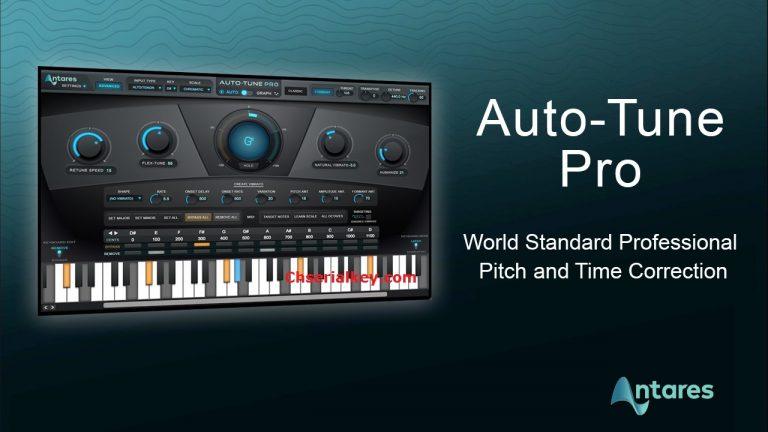 Antares AutoTune Pro 9.1.1 Crack + Full Serial Key (Latest 2020)