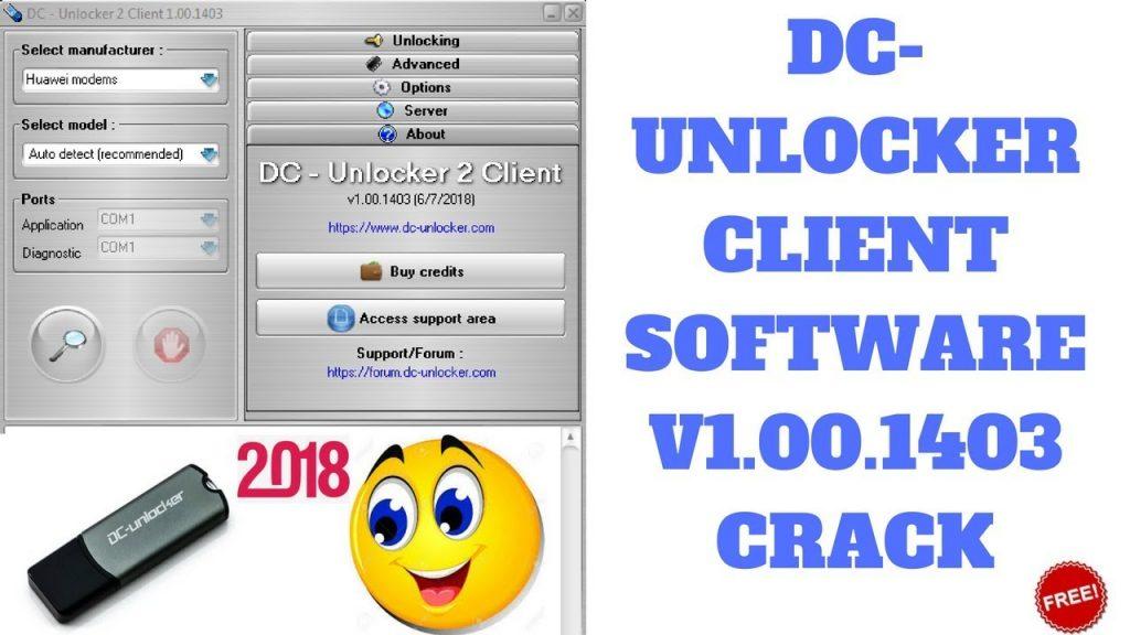 DC-Unlocker Client Crack